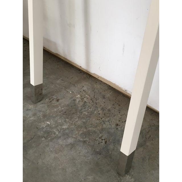"White ""Nappa"" Pottery Barn Ladder Storage - Image 6 of 8"