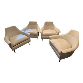 Modern Brigitte Chairs- Set of 4 For Sale