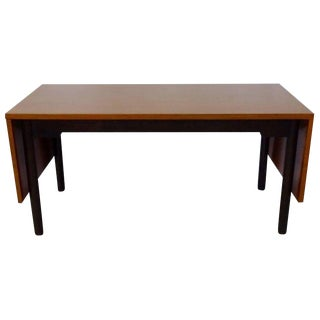 Edward Wormley for Dunbar Drop Leaf Dining Table Desk or Conference Table