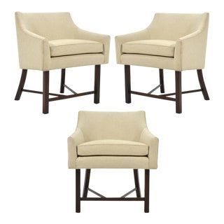 Harvey Probber Set of Three Armchairs