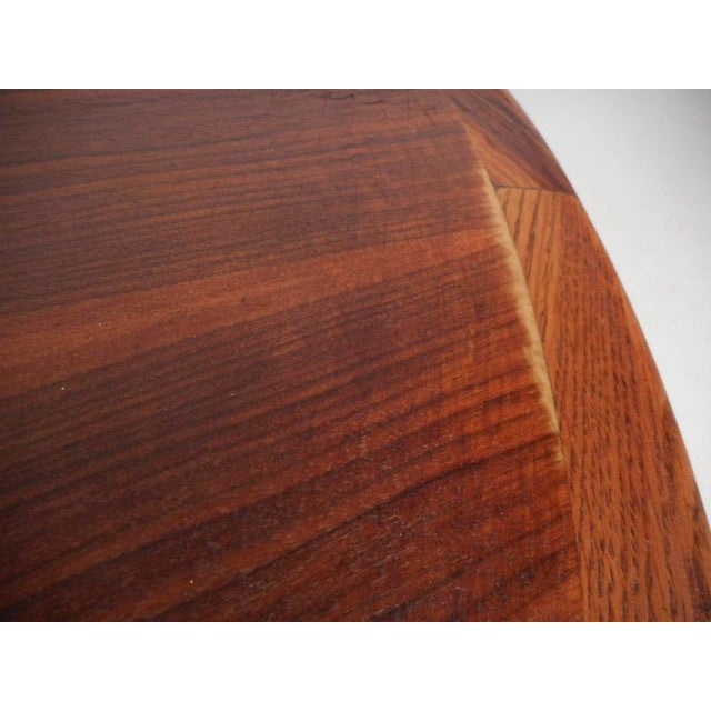 Mid-Century Modern Kidney Shaped Coffee Table by Lane Furniture - Image 9 of 9
