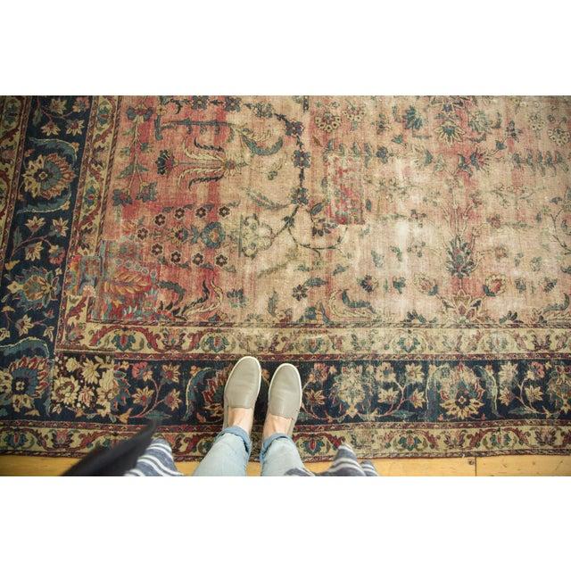 Antique Yazd Carpet - 8' x 10' - Image 3 of 10
