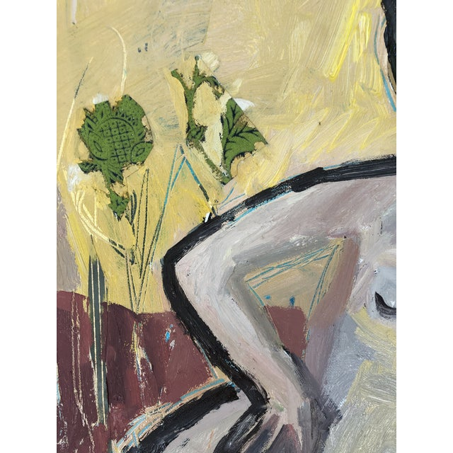 """2020s Modern Abstract Figure """"Garden Inspired"""" by Anne Darby Parker For Sale - Image 5 of 5"""