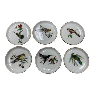 Mid 20th Century Furstenberg Porcelain Coaster Set - Set of 6 For Sale