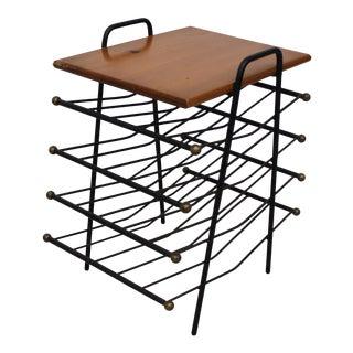 Mid Century Modern Arthur Umanoff style magazine rack