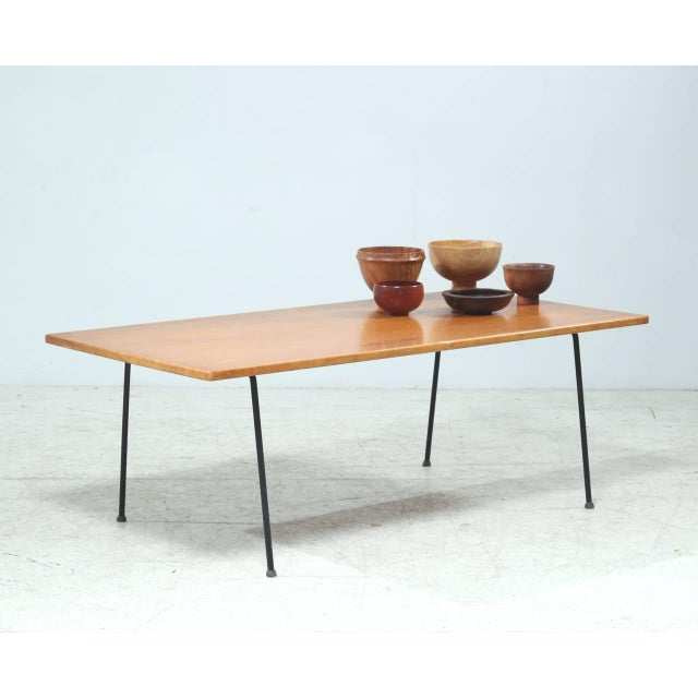 Contemporary Minimalist Arden Riddle Coffee Table For Sale - Image 3 of 7