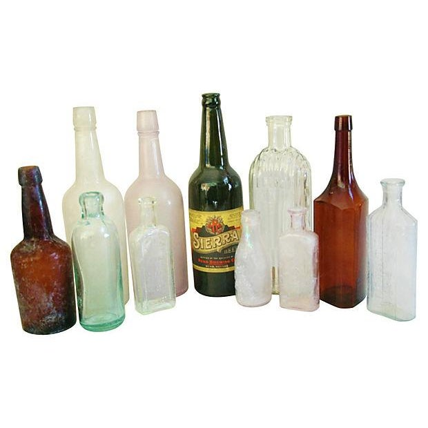 Antique Bottle Collection - Set of 11 - Image 1 of 2