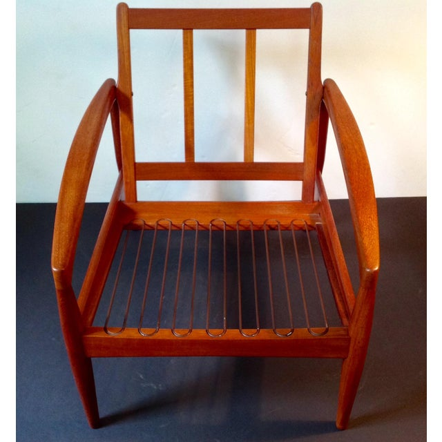 """Red Kai Kristiansen """"Paper Knife"""" Chair For Sale - Image 8 of 9"""