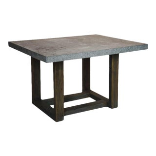 Belgian Stone Top Table For Sale