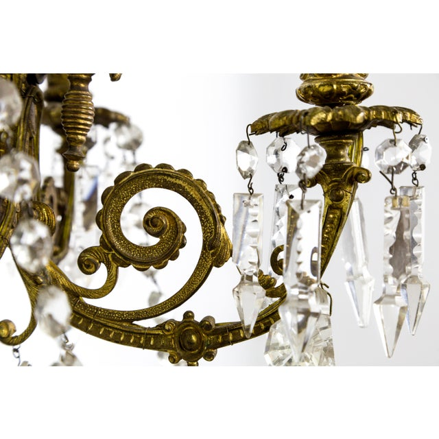 Highly Detailed Belle Epoque Style Sconces (Pair) For Sale - Image 11 of 13