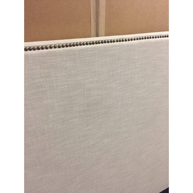 Natural Linen King Headboard - Image 3 of 4
