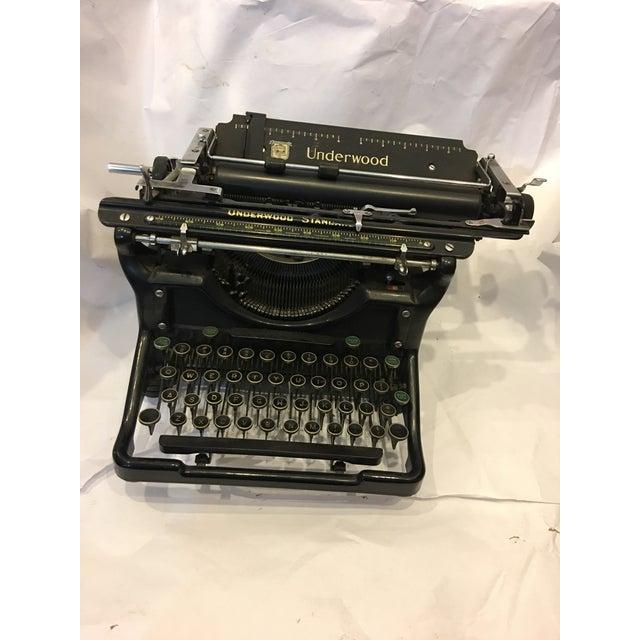 Vintage Underwood Standard Typewriter - Image 3 of 10