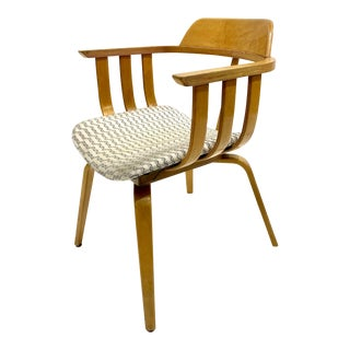 Mid Century Bentwood Chair For Sale