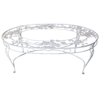 Beautiful Large Metal Table Base For Sale