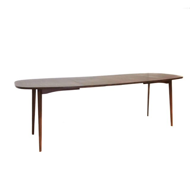 Mid-Century Modern Mid Century Modern Mel Smilow Dining Table With Two Leaves For Sale - Image 3 of 9