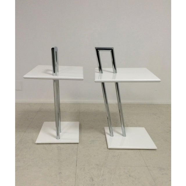 Vintage Eileen Gray Occasional Tables - A Pair - Image 5 of 6