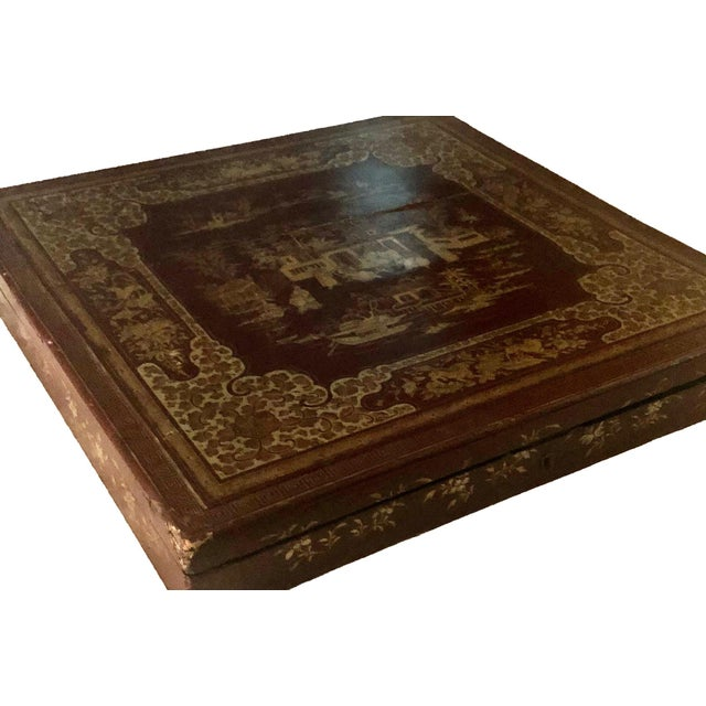 Chinese Early 19th Century Chinese Export Box For Sale - Image 3 of 8