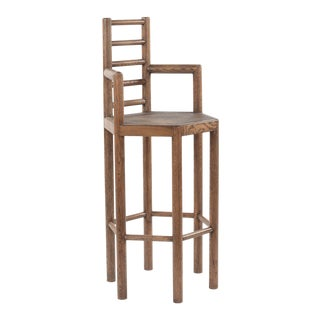 Tamarisk Bar Stool in Brown For Sale