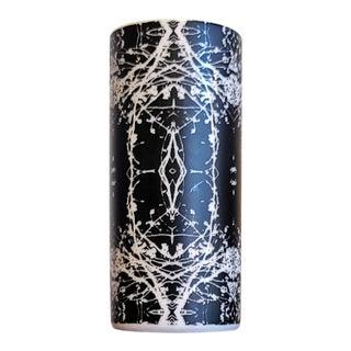 Hans Theo Baumann Op Art Vase for Eschenbach Porcelain For Sale