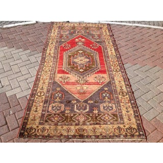 Vintage Anatolian Rug - 4′3″ × 8′11″ Preview