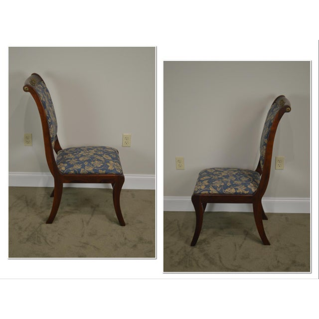 *STORE ITEM #: 18728 Henredon Natchez Collection Set of 10 Mahogany Regency Style Dining Chairs AGE / ORIGIN: Approx. 15...