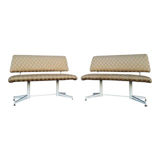 Vintage Dinette Benches - A Pair