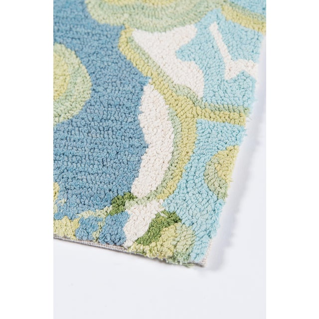 Textile Madcap Cottage Embrace Blue Area Rug 5' X 8' For Sale - Image 7 of 8