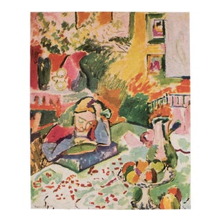 "1948 Henri Matisse, Original Period Lithograph ""Interior With a Girl"" For Sale"