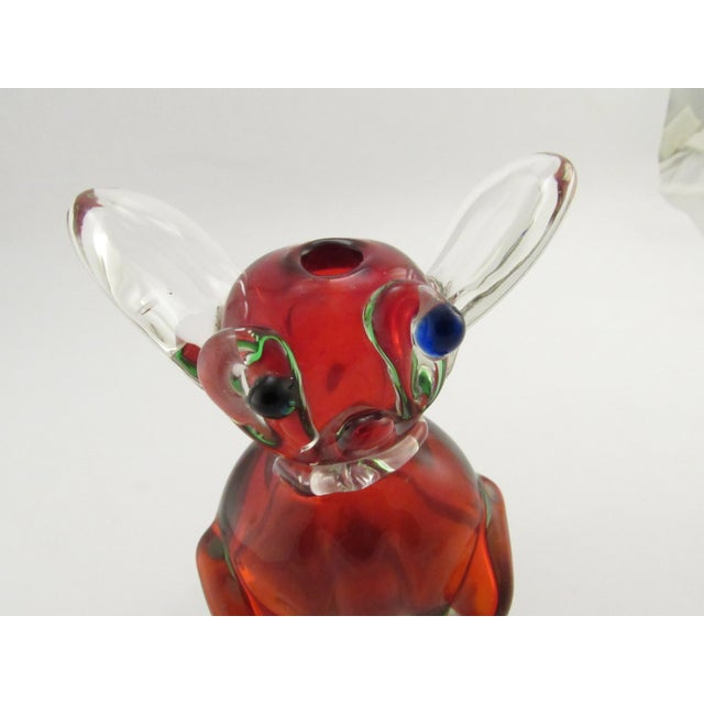 Vintage 1969 Drioli Murano Glass Liqueur Bottle For Sale - Image 9 of 11