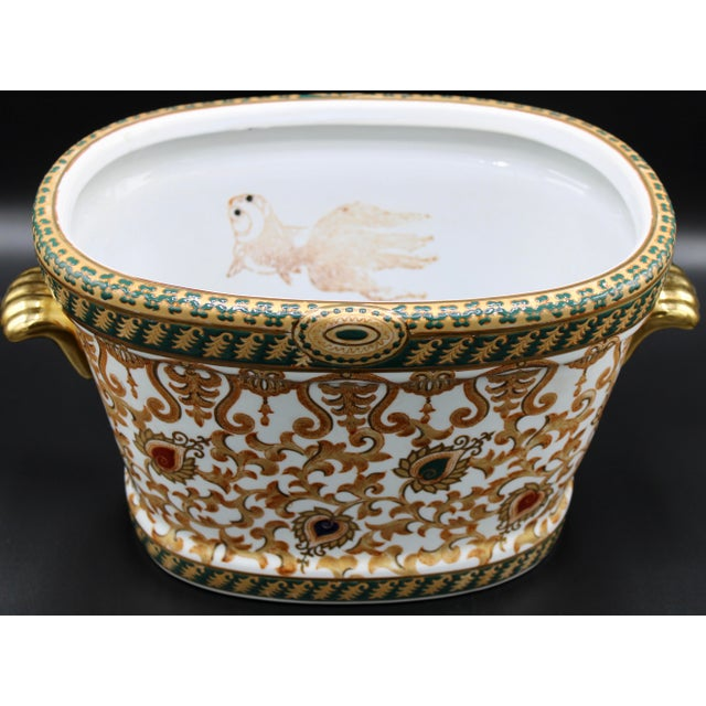 1970s Chinese Porcelain Foot Bath For Sale - Image 10 of 10