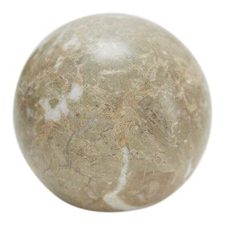 Contemporary Extra Small Decorative Sphere - 3.5 In. Diameter For Sale