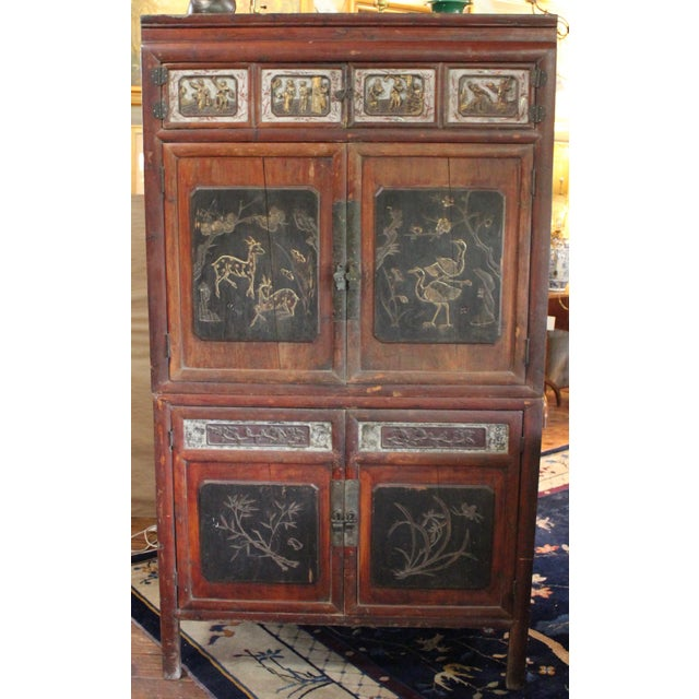 19th Century Antique Chinese Wedding Cabinet For Sale - Image 13 of 13 - 19th Century Antique Chinese Wedding Cabinet Chairish