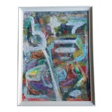 Image of Sloane Abstract Acrylic Painting For Sale