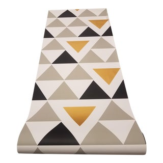 Triangle Geometric Peel and Stick Wallpaper For Sale