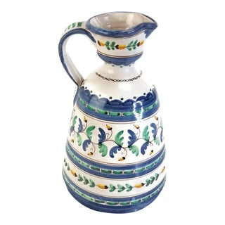 Talavera Hand Painted Pitcher For Sale