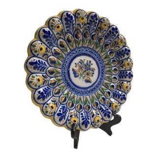 Antique Decorative Plate With Stand
