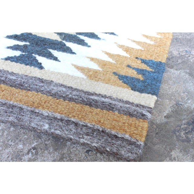 "Tribal Wool Accent Rug - 1'7"" X 3'3"" - Image 3 of 3"