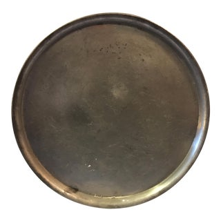 Williamsberg Stieff Pewter Tray For Sale