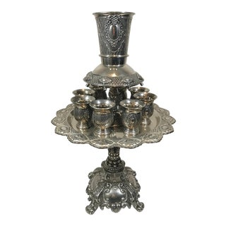 Vintage Kiddush Wine Fountain For Sale