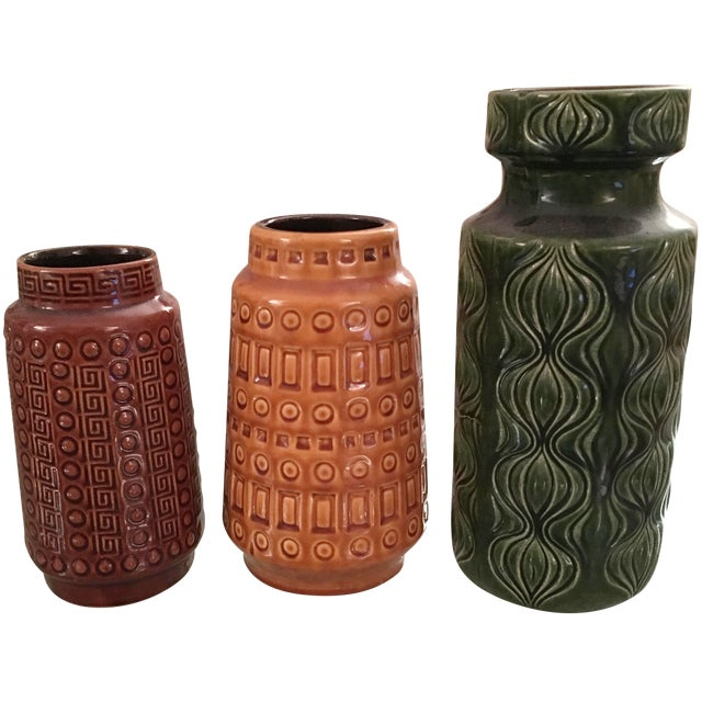 West Germany Pottery Collection - Set of 3 - Image 1 of 8