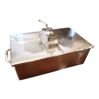 George V Sterling Cigar Box