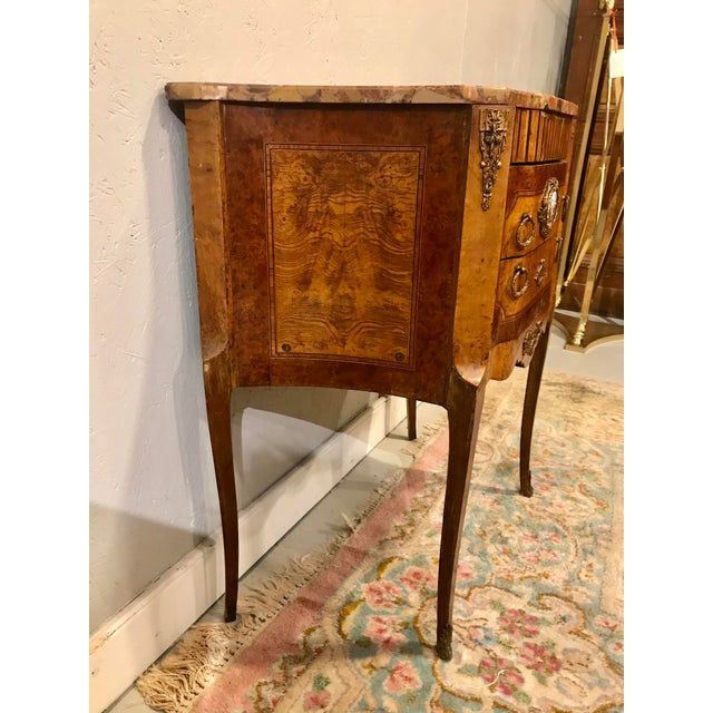 French Louis XVI Style Side Table For Sale - Image 3 of 9