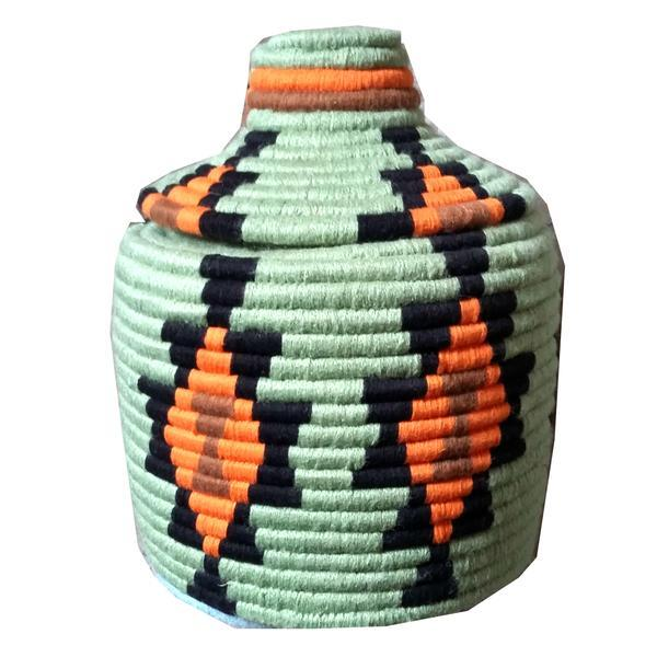 Moroccan Woven Basket - Image 1 of 2