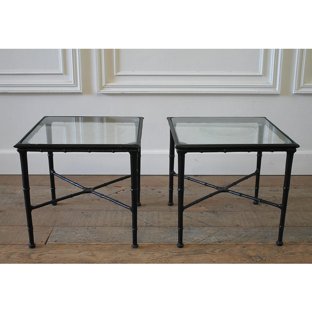 Vintage Brown Jordan Calcutta Side Tables - a Pair For Sale - Image 9 of 9