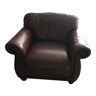 Leather Trends Brown Club Chair
