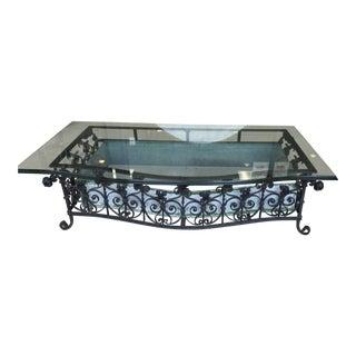 Wrought Iron Pavilion Patio Table
