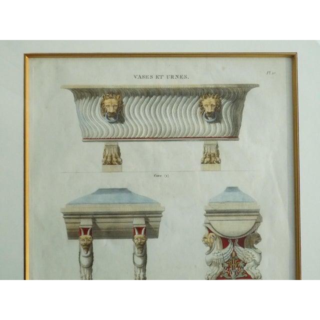 Mid 18th Century Antique Bouillion Italian Vases Print For Sale - Image 6 of 10