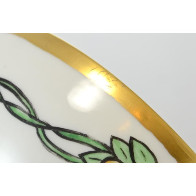 Early 20th Century Haviland Hand Painted Bowl For Sale - Image 5 of 7