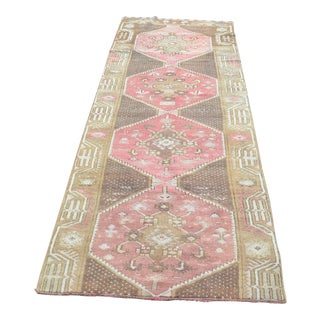 Oushak Hallway Runner - 2′11″ × 9′1″ For Sale