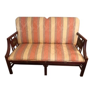Early 20th Century Chippendale Settee For Sale